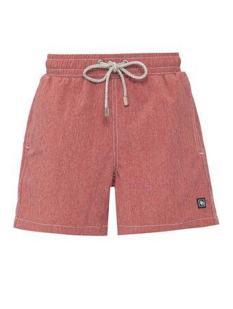 Short-Nylon-Vermelho