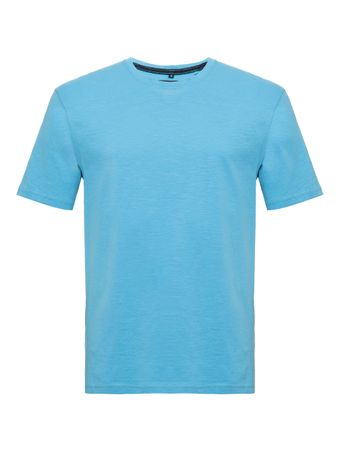 T-Shirt-Careca-Azul