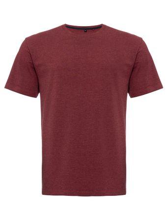 T-Shirt-Careca-Vinho
