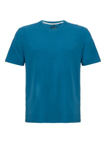T-Shirt-Stretch-Azul