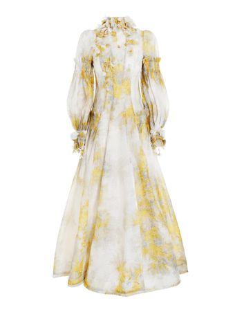 Vestido-Longo-Botanica-Estampado