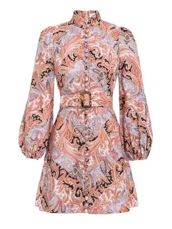 Vestido-Curto-Botanica-Estampado