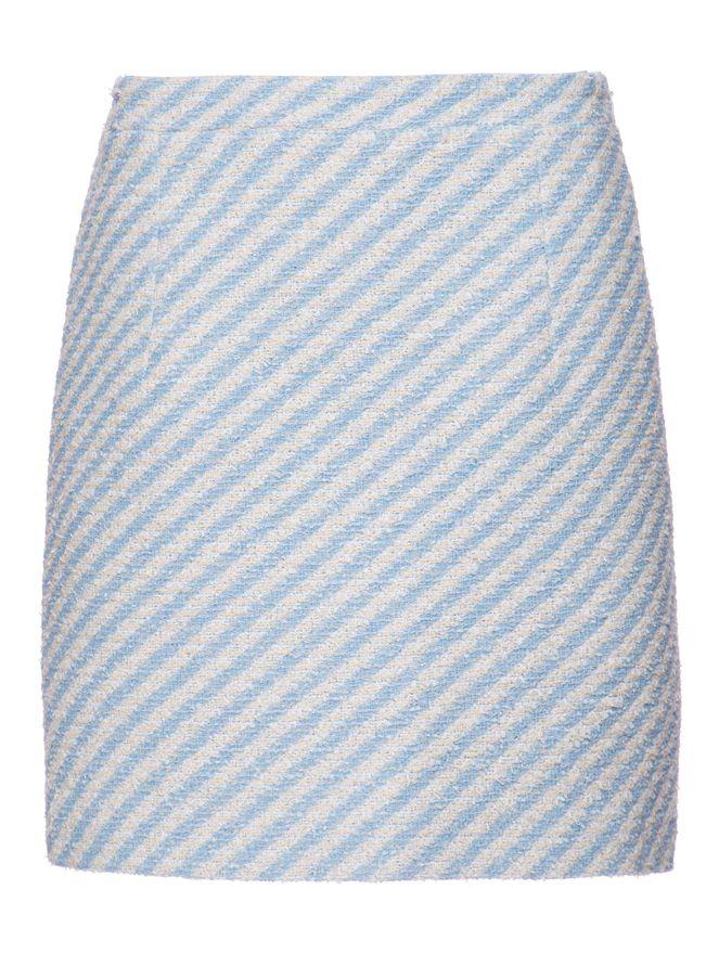 SAIA-LONGA-STRIPPED-COTTON-BLEND-TWEED-M-LIGHT-BLUE