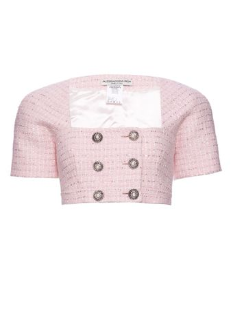 BLUSA-WOOL-BLEND-SEQUIN-TWEED-JACKET-PINK-WHITE
