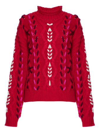 SUETER-PULL-RED