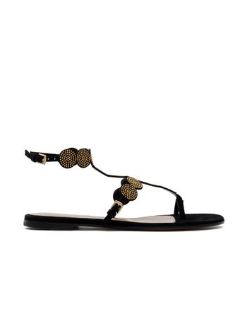 SANDALIA-SHOES-CAMOSCIO-BLACK-BLACK