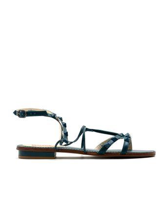 Sandalia-Gladiadora-Spikes-Azul
