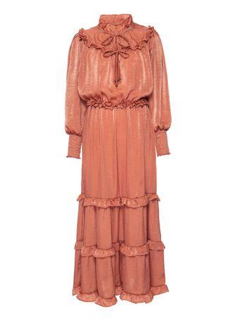 Vestido-Silky-Laranja