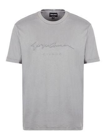 Camiseta-Assinatura-Cinza