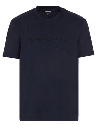 Camiseta-Assinatura-Azul
