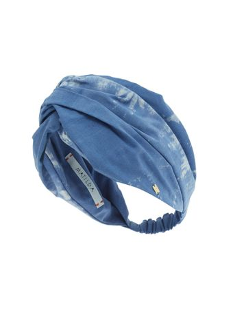 Turbante-Stronger-Tie-Dye-Azul