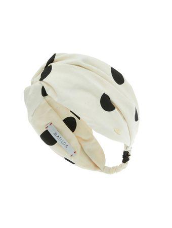 Turbante-Stronger-Off-White-Bola-Preta-Off-white