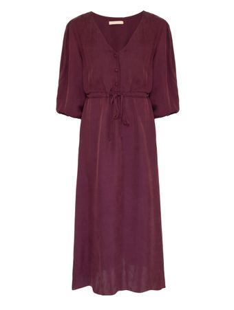 Vestido-Midi-Vinho
