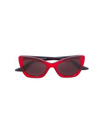 Oculos-de-Sol-Brooklyn-Vermelho