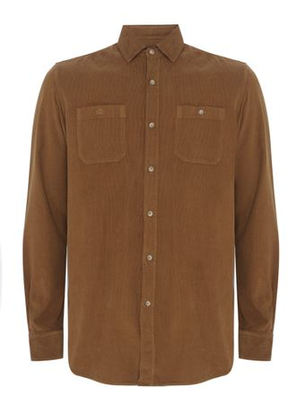 Camisa-Veludo-Marrom