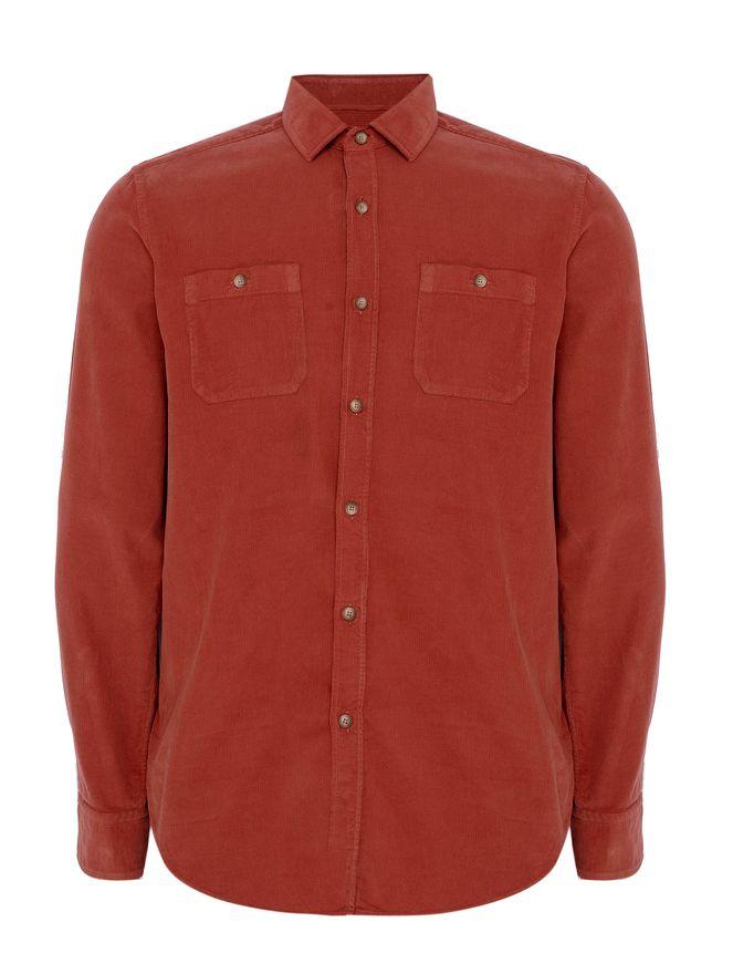 Camisa-Veludo-Vermelha
