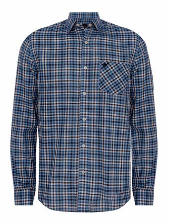 Camisa-Voile-Xadrez