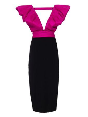 Vestido-Christy-Bicolor