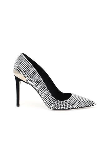 PUMP-ORYS-SUEDE-LEATHER---STRASS-0PA-BLACK
