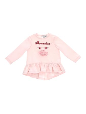 Camiseta-Babados-Rosa