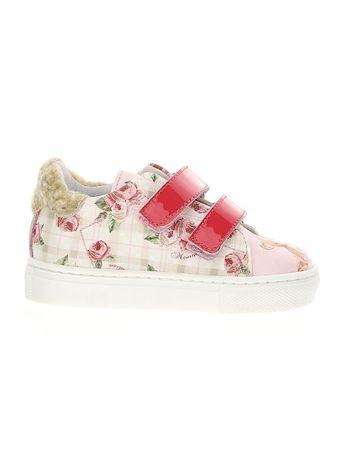 Tenis-Velcro-Floral