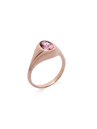 Saudade-Signet-Ring-with-Pink-Tourmaline