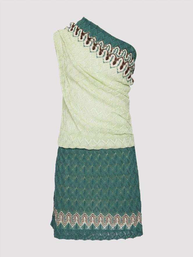 Vestido-de-Trico-Verde-38-IT