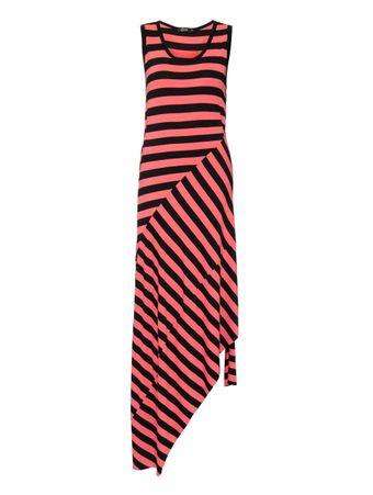 Vestido-Recortes-Diagonais-Listrado