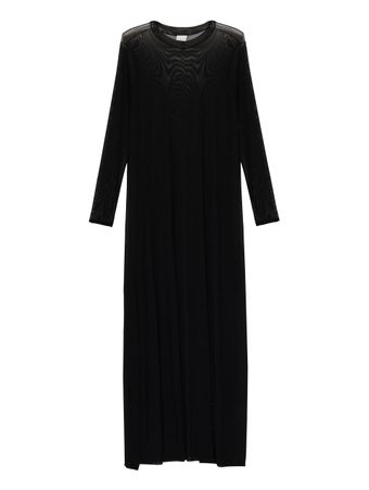 Vestido-Transparente-Preto