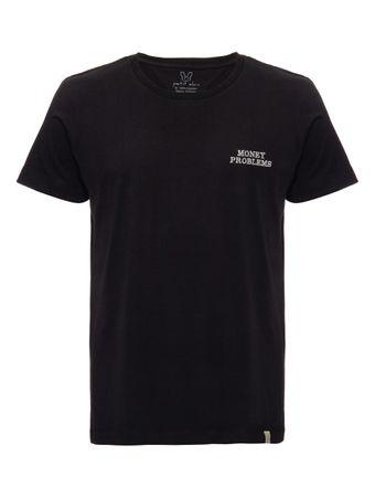 Camiseta-Money-Problems-Preta