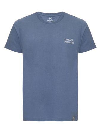 Camiseta-Therapy-Problems-Azul