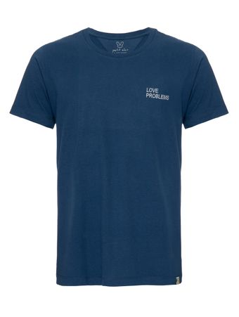Camiseta-Love-Problems-Azul