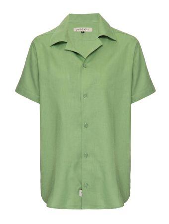 Camisa-Linho-Verde