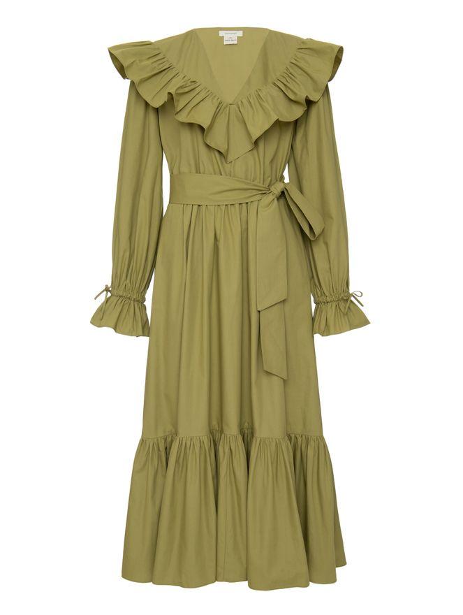 Vestido-Diana-Verde