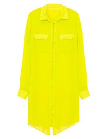 Chemise-em-Seda-Citron-Verde