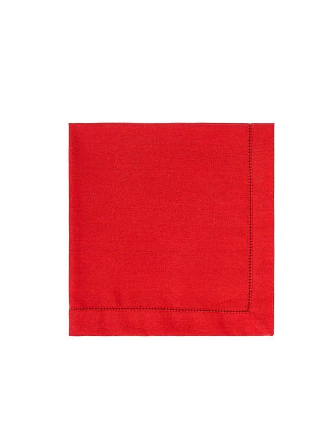 Guardanapo-linho-vermelho-vermelho