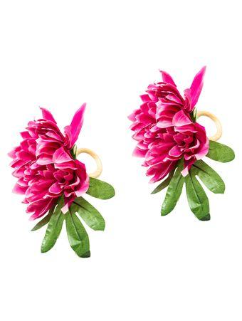 Porta-Guardanapo-Crisantemo-Rosa