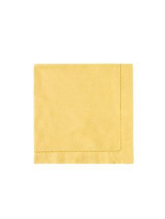 Guardanapo-linho-amarelo-amarelo