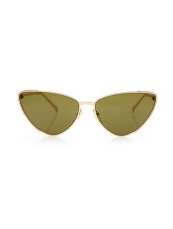Oculos-de-Sol-Gatinho-Dourado