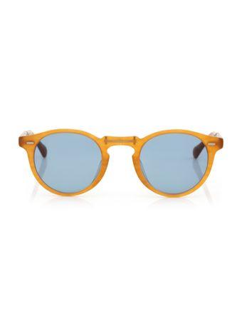 Oculos-de-Sol-Redondo-Laranja