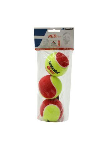BOLA-BABOLAT-RED-FELT-X3-501036-VERMELHO-AMARELO--501036-0113