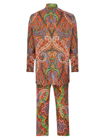Pijama-Conjunto-Camisa-e-Calca-Chanderi-Estampado