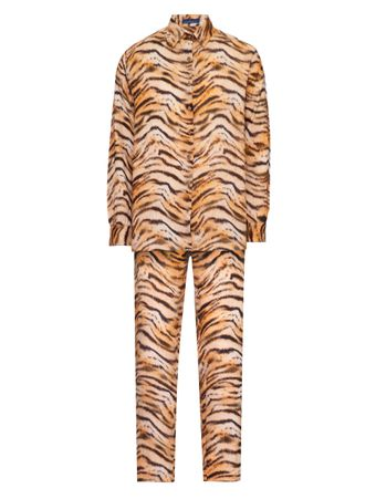 Pijama-Conjunto-Camisa-e-Calca-Richard-Parker-Animal-Print