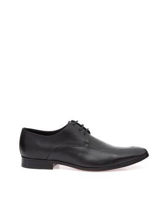 Sapato-Social-com-Cadarco-de-Couro-Preto