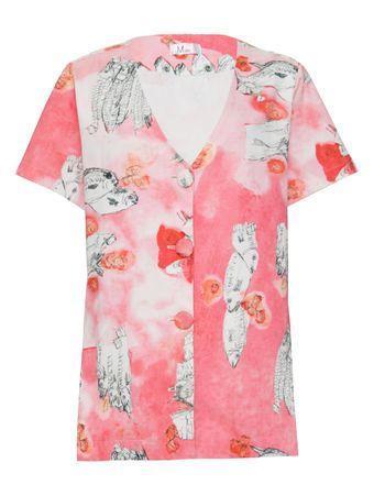 Camisa-Kimono-Pisces-Estampada