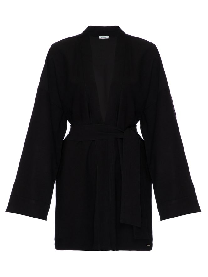 Kimono-Viscose-Preto