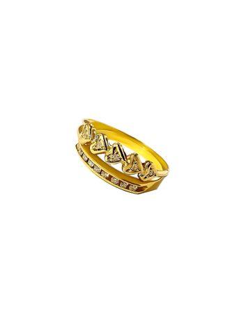 Anel-Coracoes-em-Ouro-com-Brilhantes-de-Ouro