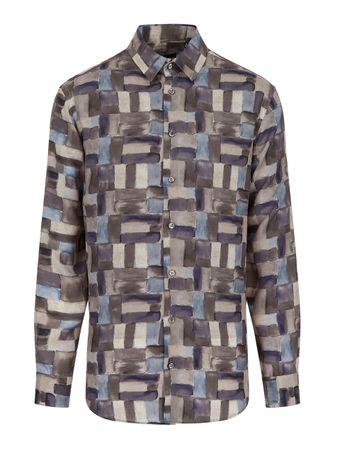 Camisa-Sharkskin-Estampada