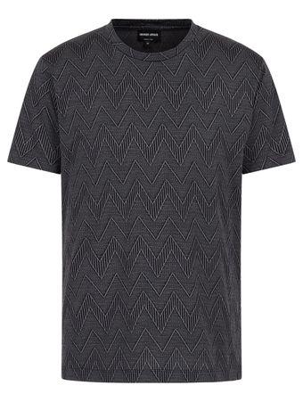 Camiseta-Chevron-Cinza