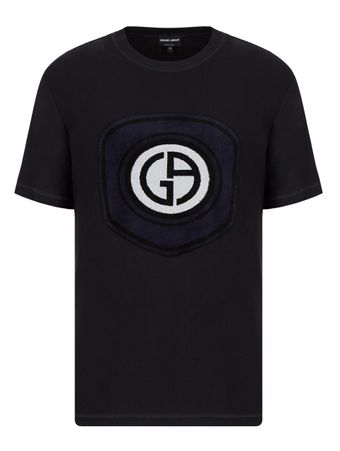 Camiseta-Logotipo-Azul